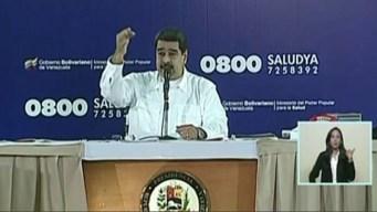 "Maduro llama ""momia"" a presidente de Parlamento"