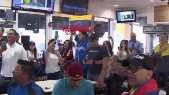 Así reaccionó la comunidad venezolana en Miami a llamado de Guaidó y López