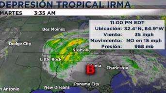 Irma ya no afecta Florida
