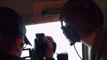 La experiencia de un vuelo dentro de un caza huracanes