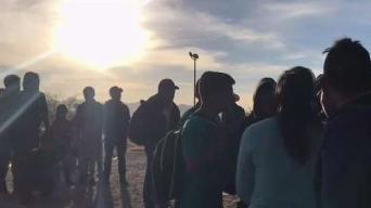 Más de 700 inmigrantes detenidos en la frontera