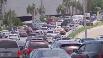 Residentes de Miami Beach se aprestan a regresar