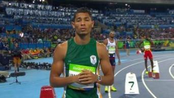 Wayne Van Niekerk Oro y récord mundial de los 400m