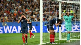 El autogol más inocente: Renard falla y Francia regala un gol a Noruega
