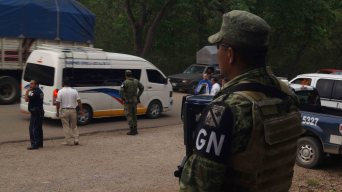 México intensifica búsqueda de migrantes en camino a EEUU