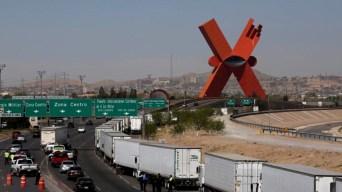 Caos fronterizo se traduce en horas de espera