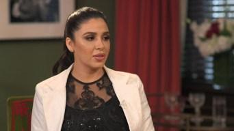 """Entrevista exclusiva con la esposa de """"El Chapo"""""""