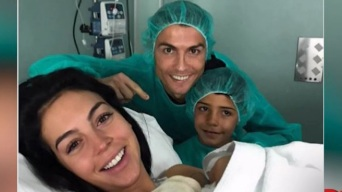 Cristiano Ronaldo es papá por cuarta vez