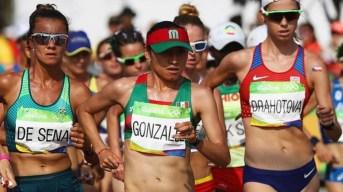 Lupita González gana plata en marcha 20Km