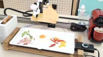 Robot prepara el desayuno en 6 minutos, mira cómo