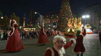 Disfrute de la Navidad en Universal