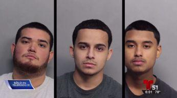 Arrestados sospechosos de robos de bolsas de aire