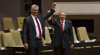 Díaz-Canel promete continuar con el legado de Castro