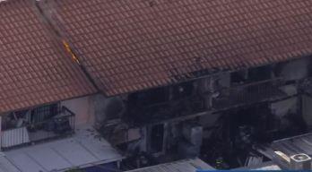 Varias familias sin hogar tras enorme incendio en Hialeah