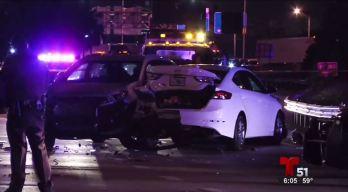 Policía atropellado por supuesto conductor ebrio