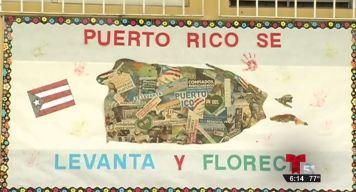 Un donativo para niños y profesores en Puerto Rico