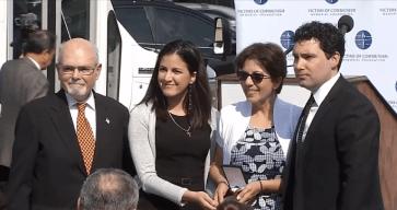 Viuda e hija de Payá reciben medalla de la libertad