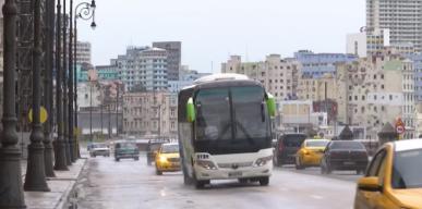 Precipitaciones moderadas en Cuba por tormenta Alberto