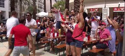 Fanáticos del sur de Florida disfrutan partidos de cuartos de finales