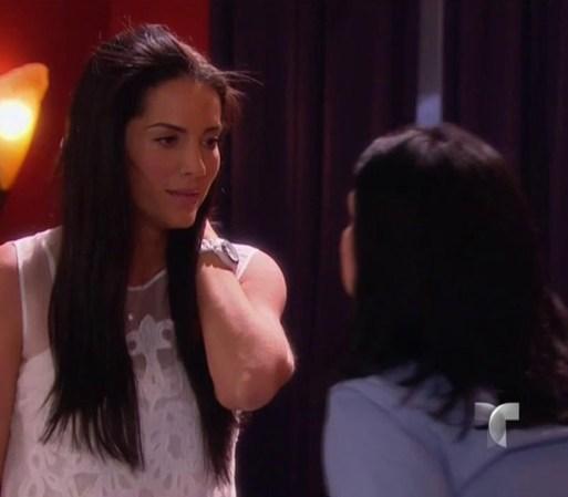 Amanda entra en una crisis de desesperación después de hablar con ...