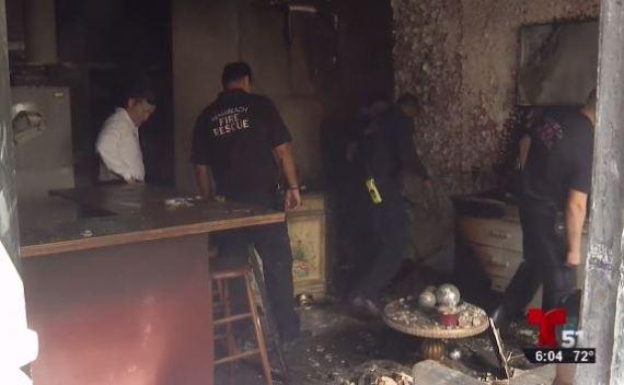 Una familia hispana lo pierde todo en incendio