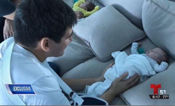 Se recuperan bebés arrollados en Miami Beach