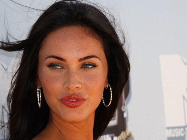 La bella y desafiante actriz Megan Fox se convirtió en estrella tras ...
