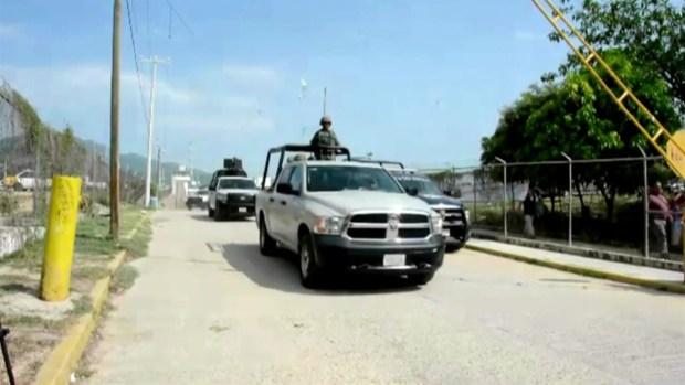Ejército entra al quite para vigilar Acapulco