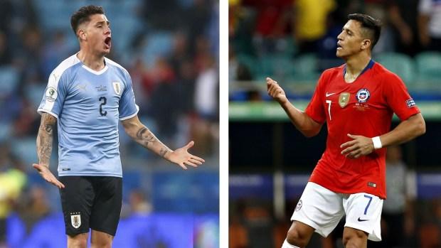 [Copa America - PUBLICADO] Chile - Uruguay, el rectángulo de fútbol convertido en ring de boxeo