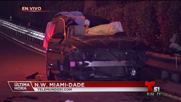 [TLMD - MIA] Accidente mortal NW Miami