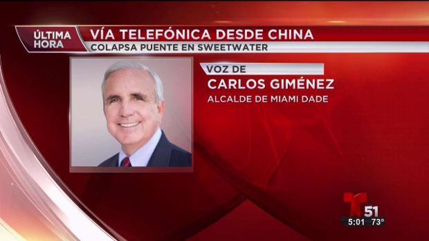 [TLMD - MIA] Alcalde de Miami-Dade habla desde China