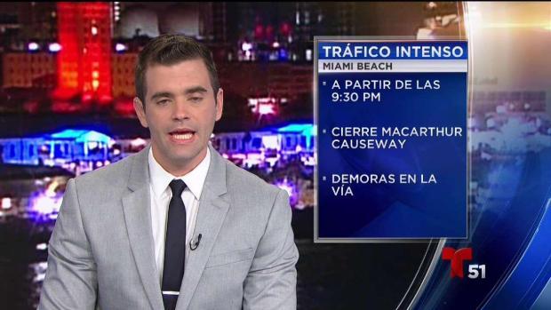 [TLMD - MIA] Alerta de trafico en Miami Beach