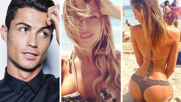 Fotos: Ella sería la nueva novia de Cristiano Ronaldo