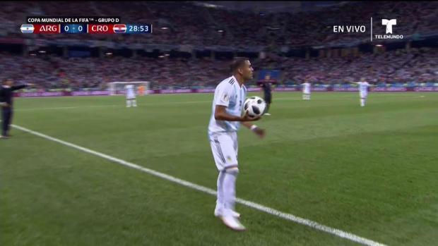 [TLMD - MIA] Argentina pierde clara oportunidad de gol