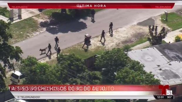 [TLMD - MIA] Arrestan a 3 sospechosos de robo de auto en Hialeah
