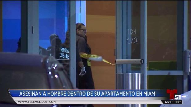 [TLMD - MIA] Asesinan a hombre dentro de su apartamento en Miami