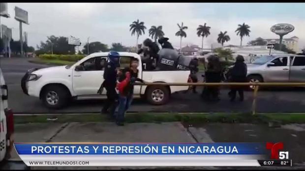[TLMD - MIA] Brutal represión tras las protestas en Nicaragua