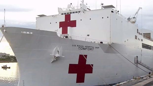 [TLMD - MIA] Buque hospital de EEUU parte de Miami para ayudar a migrantes venezolanos