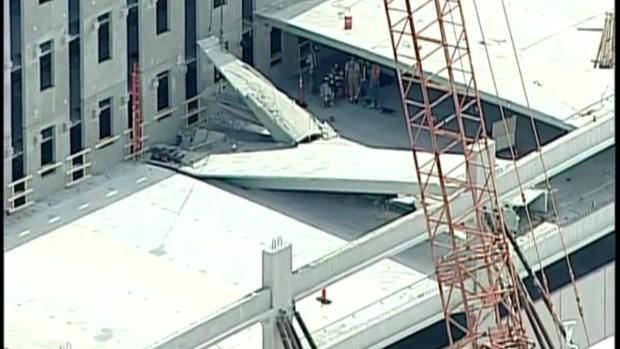[TLMD - MIA] Colapsa techo del Miami-Dade College