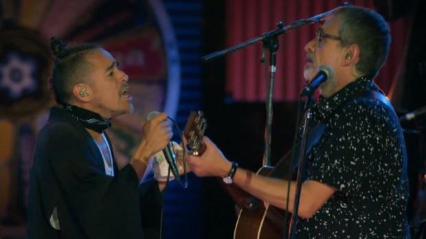 Vocalista de Café Tacuba participa en canción con Los Auténticos Decadentes