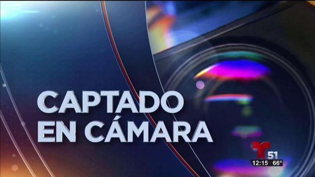 [TLMD - MIA] Captado en camara vandalizan vehiculo en NW Miami