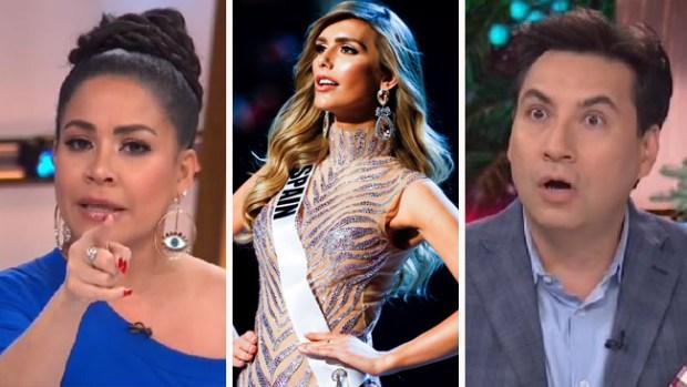 Luis Alfonso Borrego y Carolina Sandoval se enfrentan en tremenda batalla por Miss España
