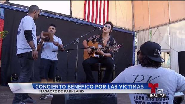 [TLMD - MIA] Concierto benéfico a beneficio de las víctimas de Parkland