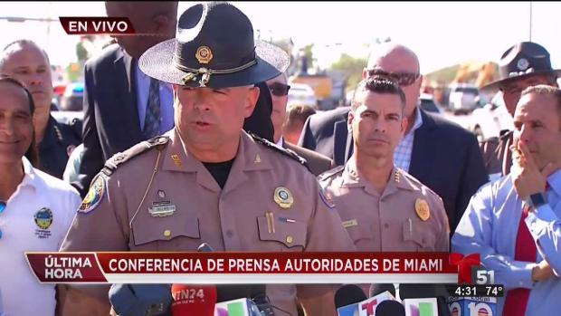 [TLMD - MIA] Conferencia de Prensa de las autoridades sobre el colapso del puente