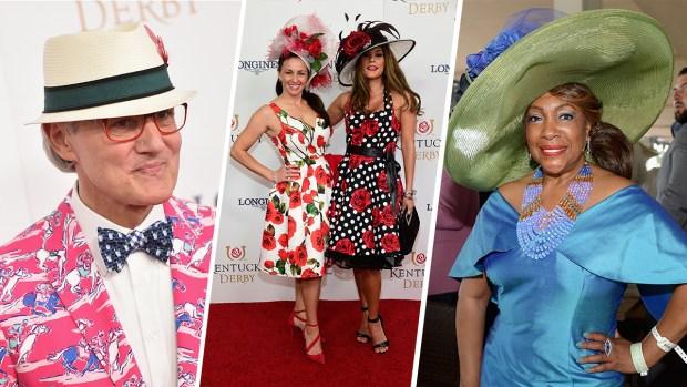 La locura de los sombreros del Kentucky Derby