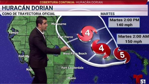 [TLMD - MIA] Dorian mantiene su furia como huracán Categoría 5