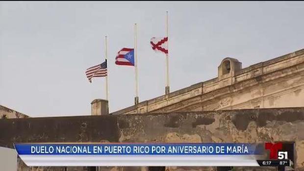 [TLMD - MIA] Duelo nacional en Puerto Rico por aniversario de María