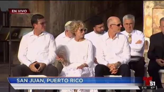 [TLMD - MIA] En Puerto Rico recuerdan a víctimas tras el paso del huracán María