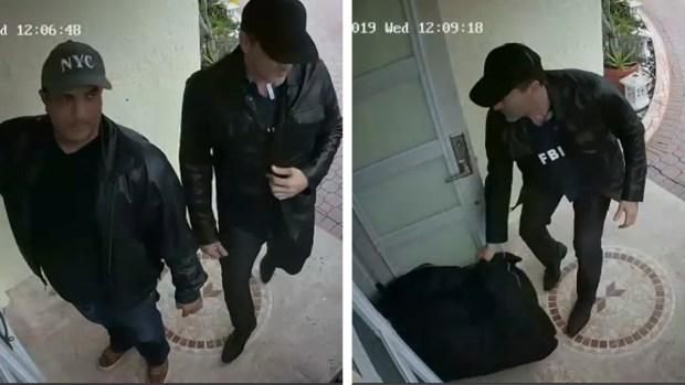 [TLMD - MIA] Buscan a falsos agentes del FBI que robaron casa en Miami