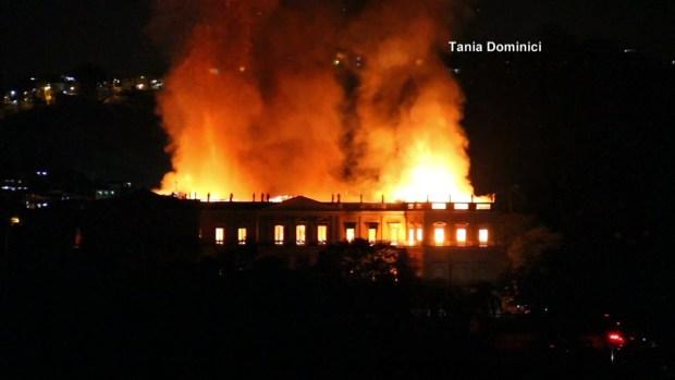 [TLMD - MIA] Incendio museo Nacional de Rio de Janeiro
